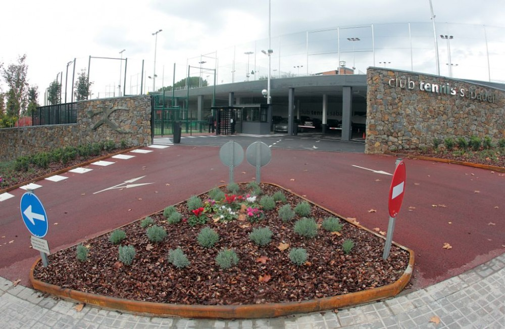 Club Tennis Sabadell - Entrada-parking-nou